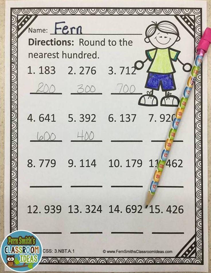 17 Best Images About Third Grade Math