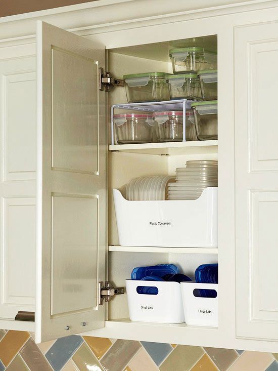 My plastic container drawer is a mess! Handy ways to quickly declutter with 5, 1