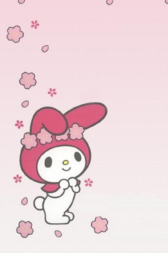 My Melody Sanrio Swiss Roll Template Kawaii Sanrio