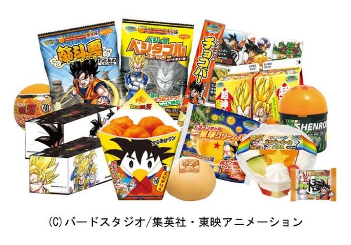 Dragon Ball Food