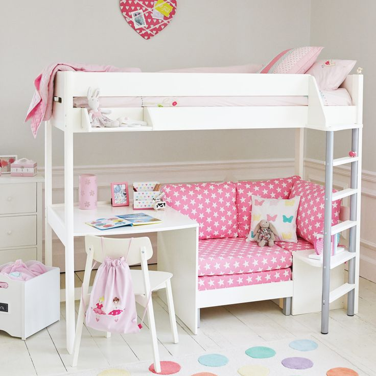 17 Best Ideas About High Beds On Pinterest Diy Room