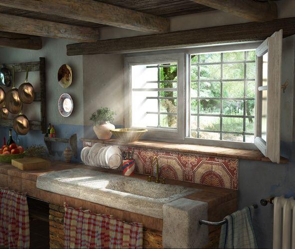 Old English Farmhouse Kitchens Photos Pinterest Pin It