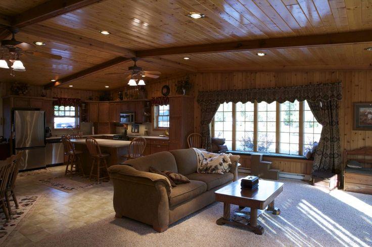 Morton Buildings Home Interior In Deer River Minnesota