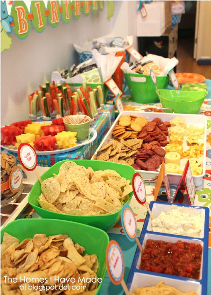 Monster Party Spotlight on Food Spotlight, Monster