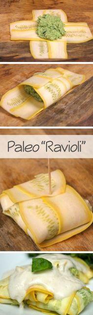 "Veggie ""Ravioli"" #vegetarian #glutenfree #cleaneating"