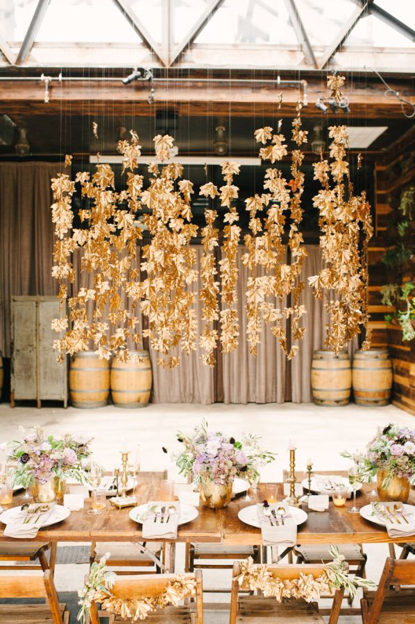 Fall Weddings Colors and Ideas That Don't Scream Halloween