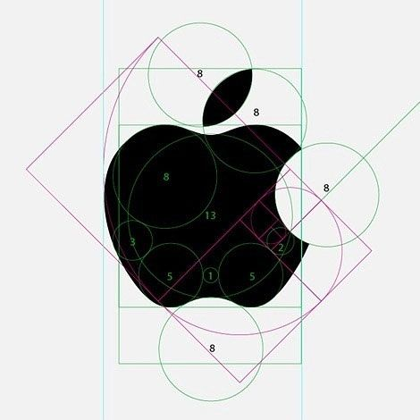 Mathematical Design -Pythagorean Spiral Apple design