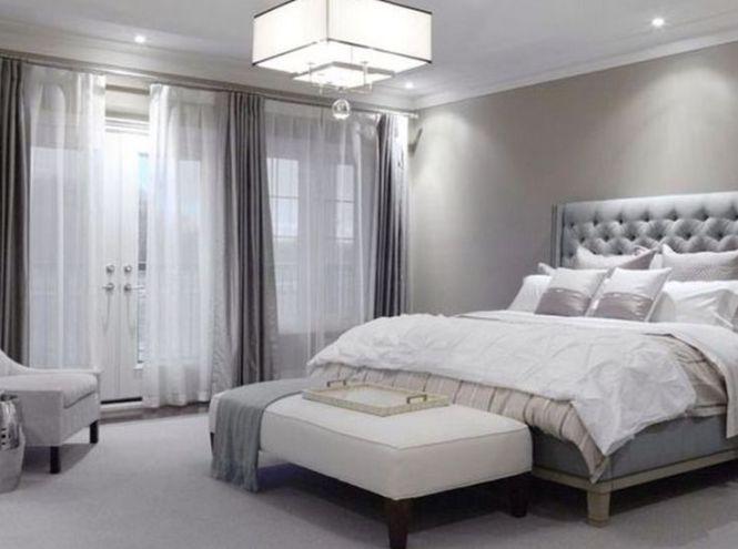 Light Grey Bedroom Master Ideas Gray Modernwhite