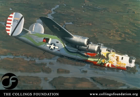 B24J Consolidated Liberator Bomber The Dragon And His
