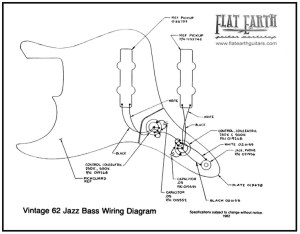 Vintage 62 Jazz bass Wiring Diagram | it's only rock