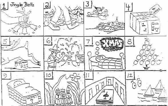 Christmas Puzzles Brain Teasers Printable