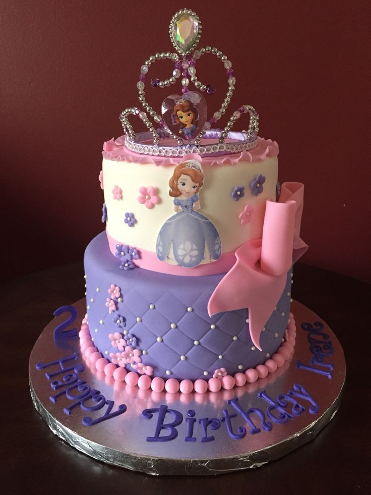 Sofia The First Cake ή Google Sophia The First