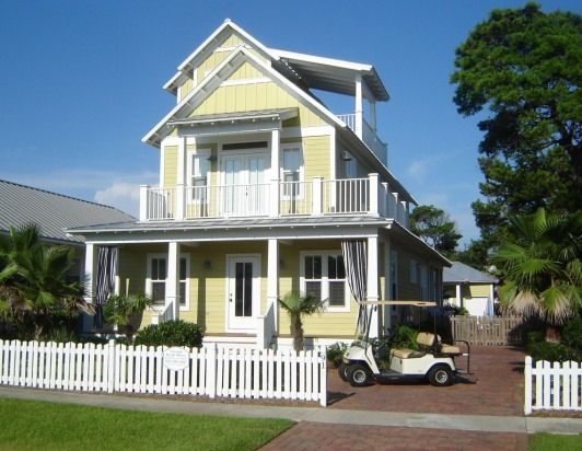 Luxurious Beach House 6br Pool Hot Tub Golf Cart