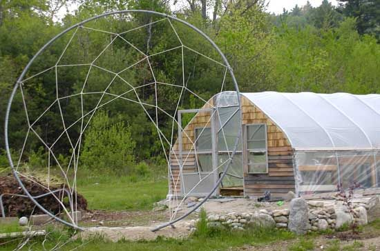 Dreamcatcher Hops Arbor Is A Recycled Trampoline Frame