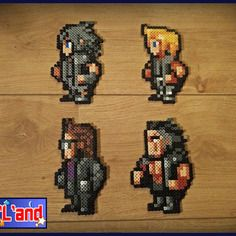 17 Best Images About Final Fantasy Perler On Pinterest 16 Bit Perler Beads And Final Fantasy