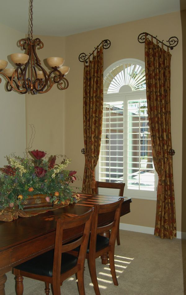 Tuscan Country Window Treatments Dining Rooms Old