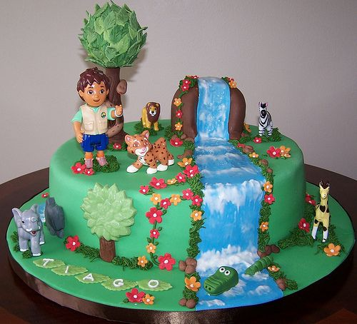 Go Diego Go By Cakespace Beth Chantilly Cake Designs