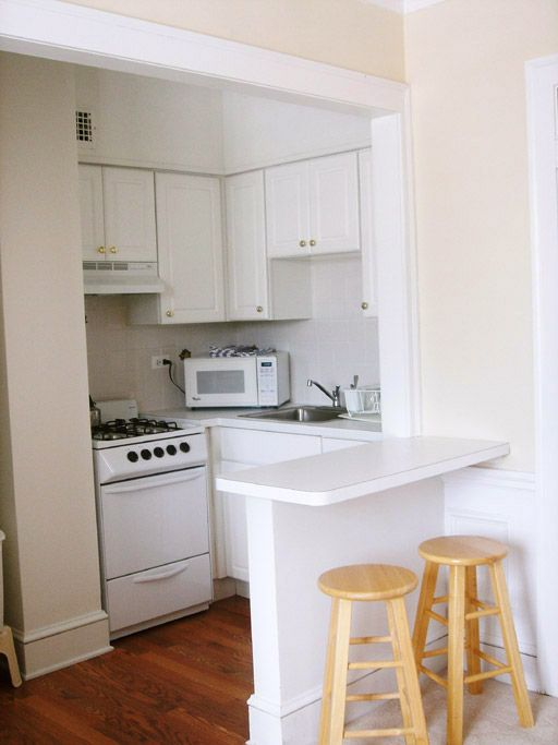 Studio Apartment Kitchen Compact Small