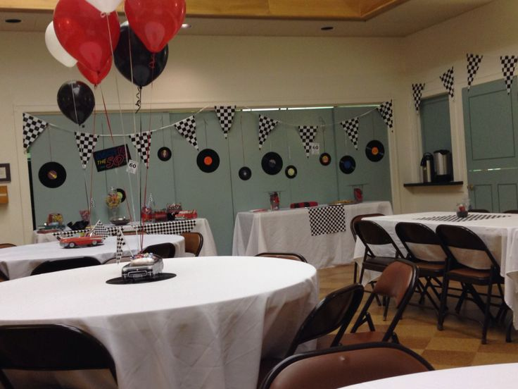 Decorations For My Dad S 60th Classic Car Birthday Party
