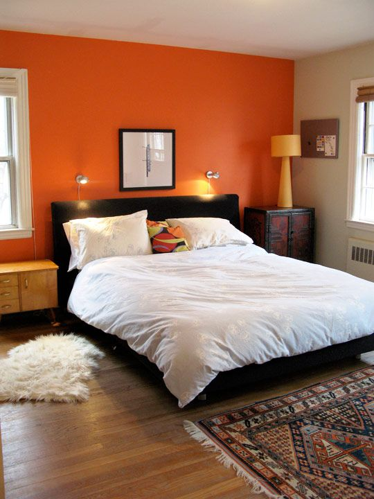 25 Best Ideas About Orange Accent Walls On Pinterest Burnt Orange Paint Orange Bathroom