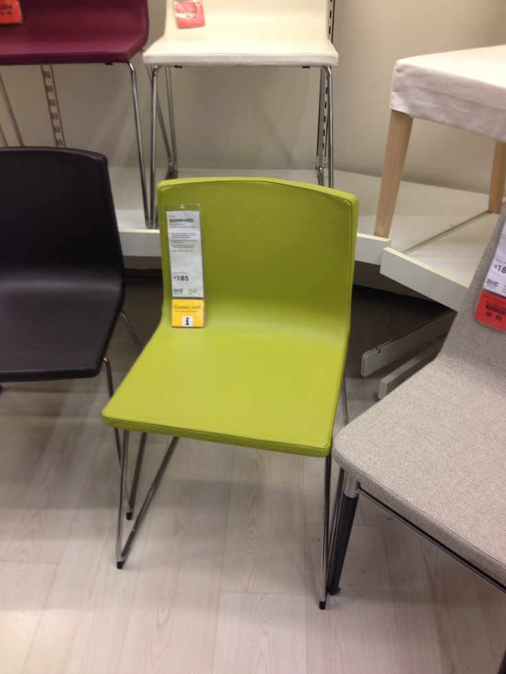 Lime Green Leather Dining Chair Ikea Home Inspiration