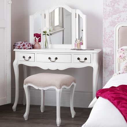 Shabby Chic White Bedroom Furniture Bedside Tables Dressing Wardrobe