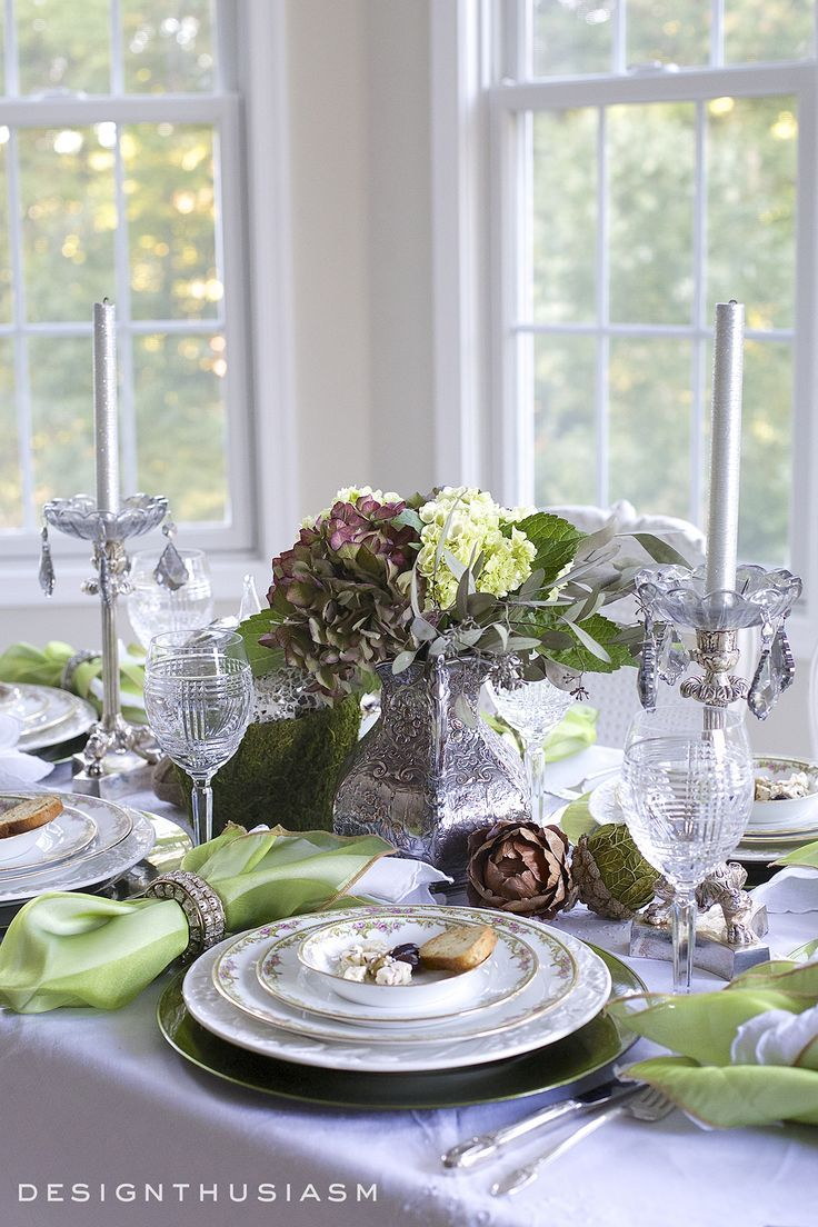 17 Best Images About Tablescapes Designthusiasm On