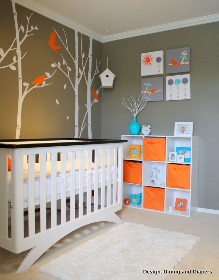 Here's a special baby nursery that is just right for a baby boy or baby girl! A