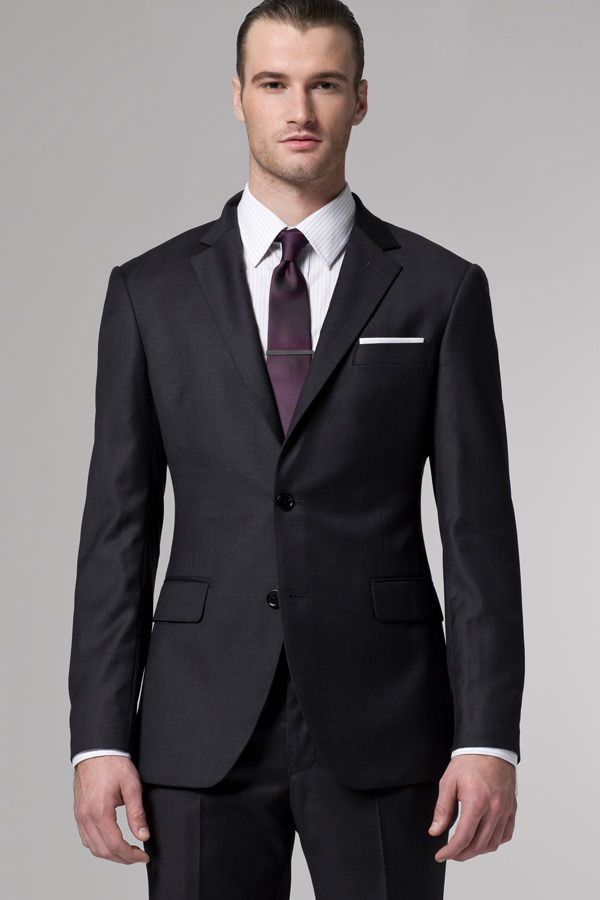Wear This Timeless Charcoal Suit With Any Shirt And Tie Combination You Can Dream Up The