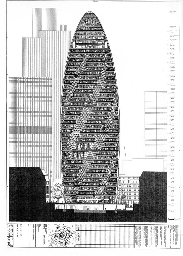 Gallery of The Gherkin How London's Famous Tower
