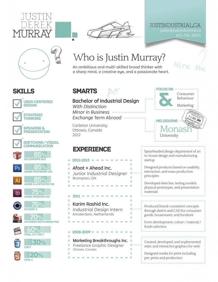 cv examples resume and industrial on pinterest
