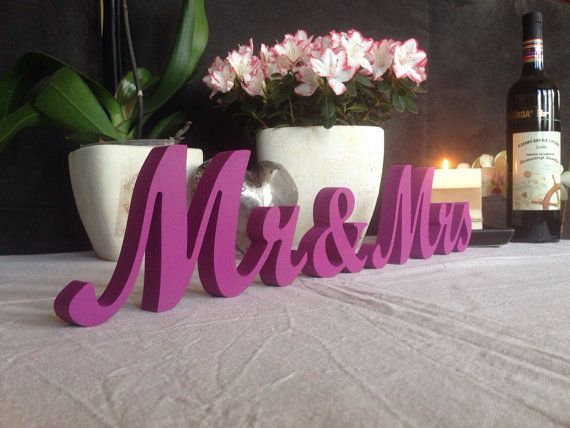 17 Best Images About Mr And Mrs Wedding Signs On Pinterest