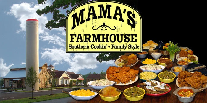 Mama's Farmhouse in Pigeon AMAZING FOOD! Well worth