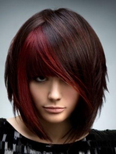 peek a boo color block fall winter 2013 color blocking hair pinterest fall hair trends