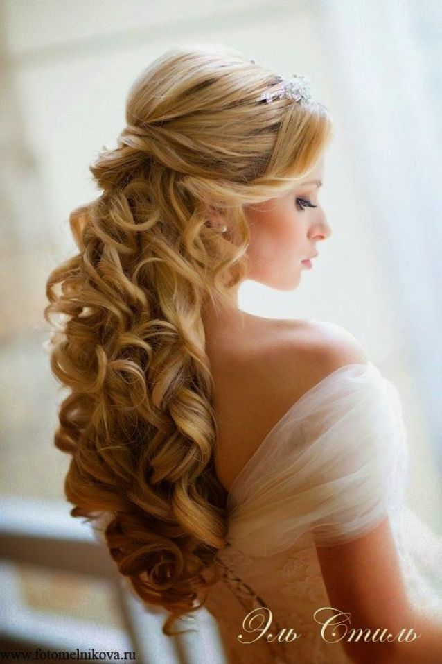 Best Wedding Hairstyles of 2014 | bellethemagazine.com: