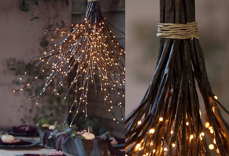 How-To: A Woodland Chandelier–all the other DIYs can go home, this one wins them all.