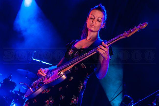 Katharine Wallinger Bassist WithThe Wedding Present