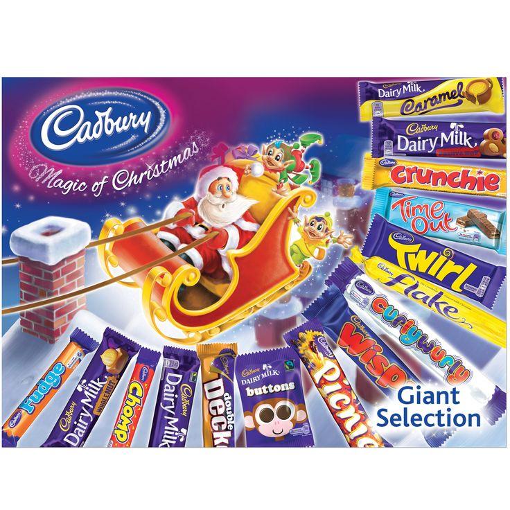 Cadbury giant christmas selection box amazoncouk