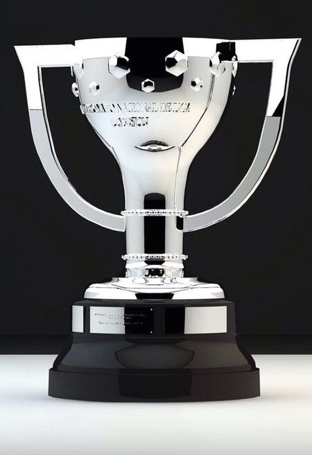 The La Liga Spanish Football League Trophy Sophie