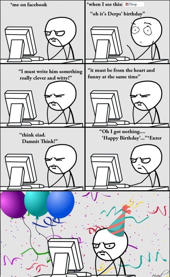 Rage Comics Happy Birthday