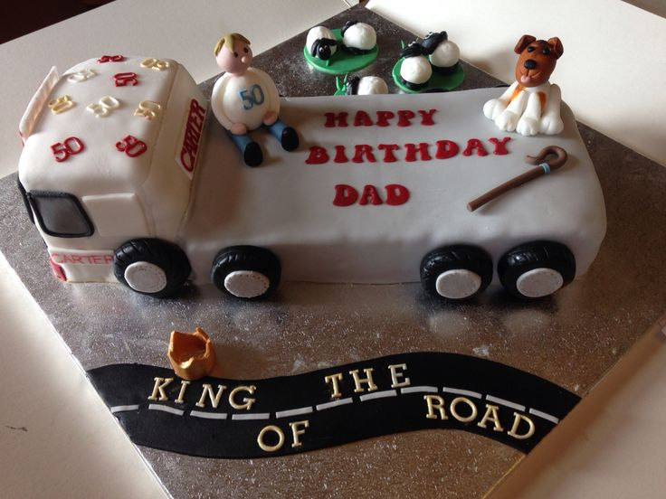 27 Best Images About Truckers Cakes On Pinterest