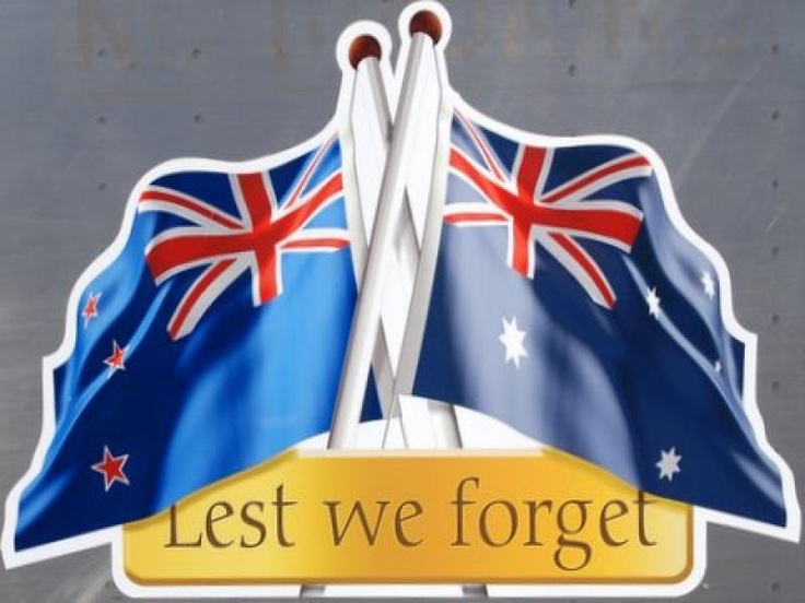 AUSTRALIAN AND NEW ZEALAND ARMY CORPS LEST WE