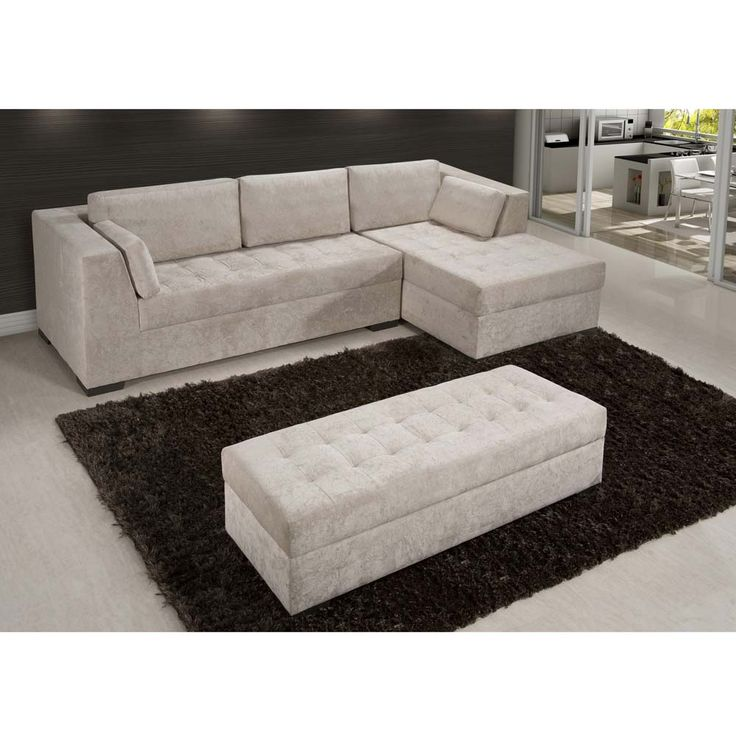 Sofa Chaise Retratil 5 Lugares