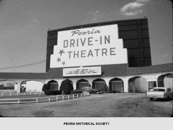 Peoria Drive In Theatresaw A Few Movies Here Follow The Link To Peoria Historical Society