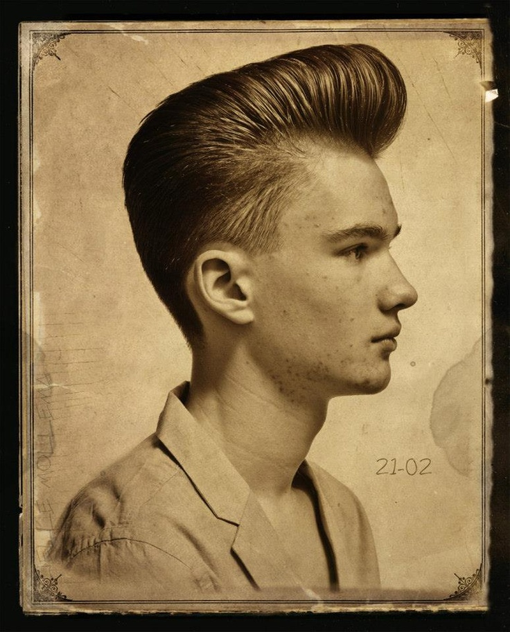 Awesome Pompadourmaking Its Way Back Into Popular