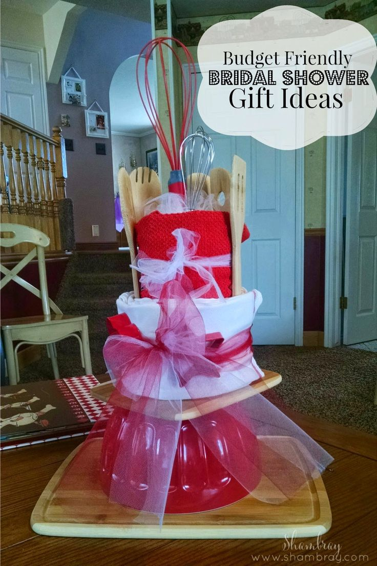 Budget Friendly Bridal Shower Gift Ideas Shower gifts
