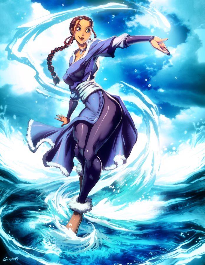 Avatar Katara by GENZOMAN on deviantART Avatar & Korra