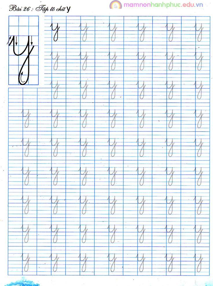 Sách Tập tô chữ thường mẫu giáo 45 tuổi Bum Pinterest