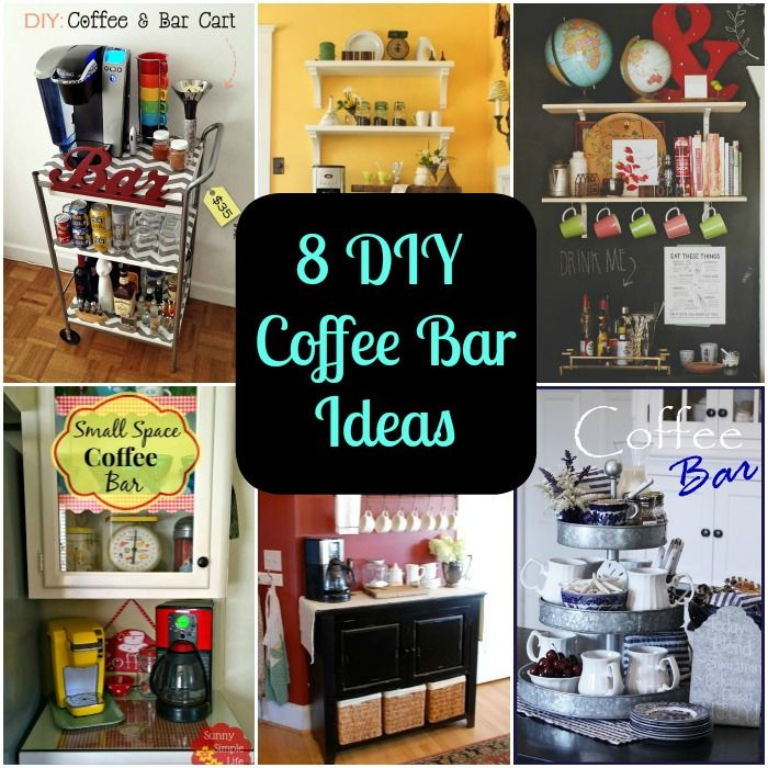 8 DIY Coffee Bar Ideas for Your Home Read more, The o