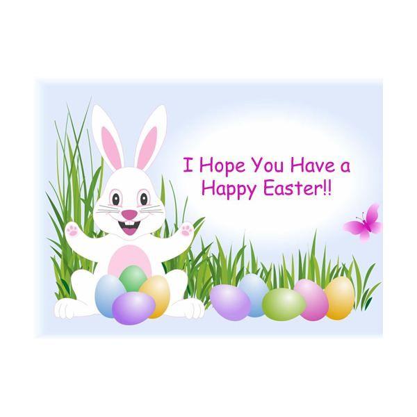 Standard Letter Easter Bunny